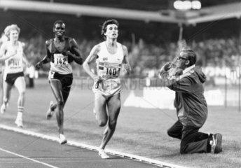 Sebastian Coe  British runner  Zurich  1979.