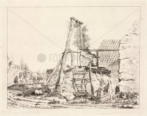 A well  1747-1748.