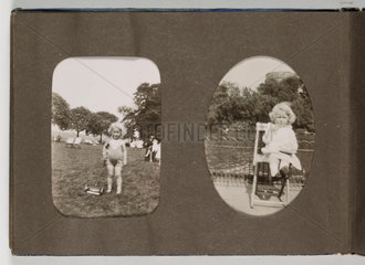 A 20th Century Family Snapshot album  c.1925.