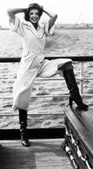Culotte dress  April 1976.