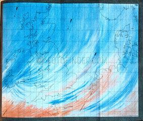 Atmospheric disturbances  1863.