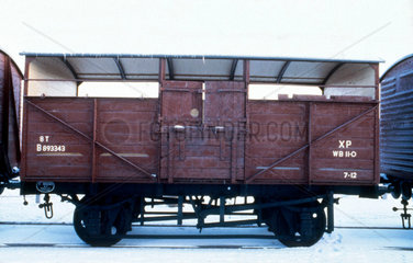 British Railways cattle wagon  1951.
