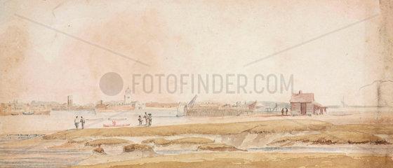 Coastal scene  South Atlantic  1828-1831.