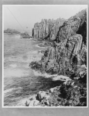 Pendeen  Land's End  Cornwall  1921.