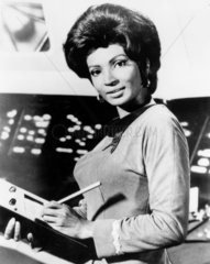 Nichelle Nichols  NASA recruiter  24 March 1977.