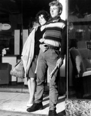 Rocker couple  19 October 1959.