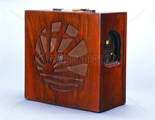 Pye portable radio  1929.