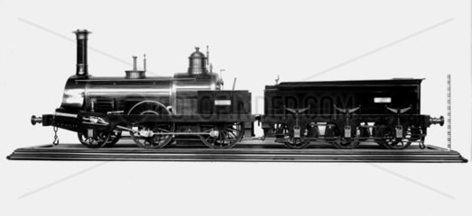 Bombay and Barock railway locomotive and tender  1856.