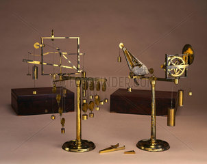 Mechanical powers apparatus  1775.