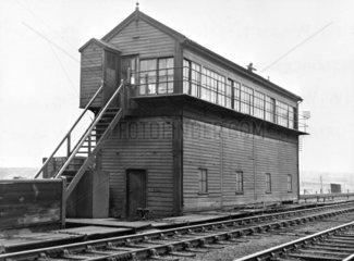 Signal box  Wigan North West Junction  c 1940.