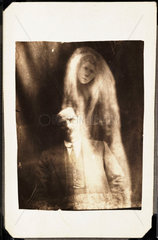 Man with 'spirit' of his deceased second wife  1923.