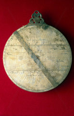 Astrolabe  Italian  1572.