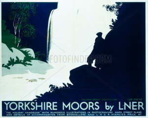 'Yorkshire Moors'  LNER poster  1923-1947.