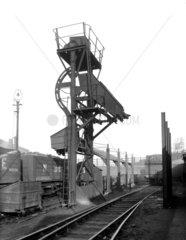 LNER locomotive coaling plant  Barnsley  January 1935.