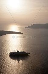Kreuzfahrt nach Santorin