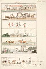 Balloon illustrations  1838.