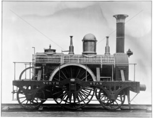 North Star locomotive  replica  1837. Photo
