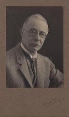 Arthur George Perkin  English chemist and son of Sir William Henry Perkin  c 1920.