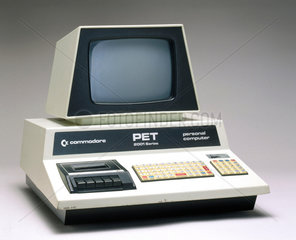 Commodore PET 2001-8-BS personal computer  1977.