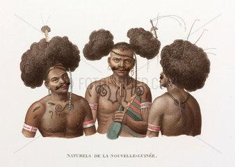 'Natives of New Guinea'  1822-1825.