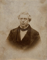 Robert Stephenson  English mechanical and civil engineer  c 1850s.