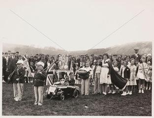 Children's fancy dress procession  1937.