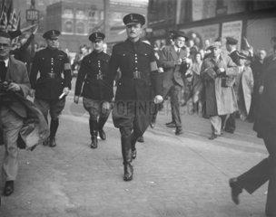 Oswald Mosley  English politician  4 October 1936.