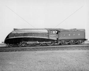 'East Anglian' steam locomotive  1937. The