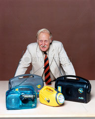 Trevor Baylis  English inventor  August 1998.