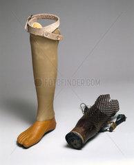 Artificial legs  Cambodia  1990-2002.
