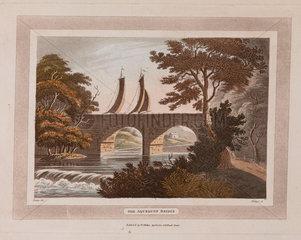 'The Aqueduct Bridge'  Scotland  1801.