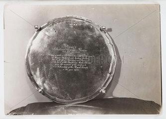 'Presentation to Sir Alexander Fleming'  1943.