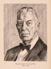 Balthazar van der Pol  Dutch electrical engineer  c 1930s.