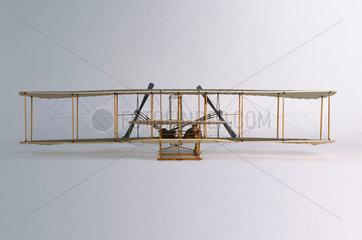 The first Wright Aeroplane  1903.