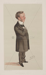 Richard Quain  Irish surgeon  1883.