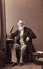 Robert Kaye Greville  botanist  c 1863.