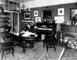 Charles Urban  American documentary film pioneer  c 1910s.