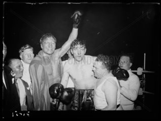 After the boxing match  1938.