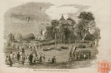 'Band of Hope Fete in Aston Park  Birmingham'  1844-1884.