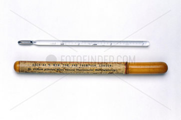 Allbutt-type clinical thermometer  c 1880.