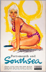 Portsmouth and Southsea  British Railways p