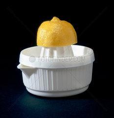 Lemon squeezer with lemon  1997.