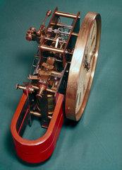 Electric master clock  1900.