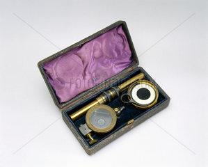 Aitken's pocket dust counter  1890.