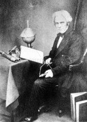Michael Faraday  English physicist. c 1855.