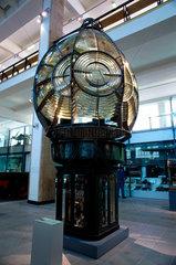 Lighthouse optic  Science Museum  London  June 2000.