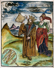 Ptolemy  Greek astronomer and geographer  c 130 AD.
