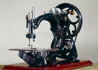 Willcox and Gibbs chain-stitch sewing machine  c 1914.