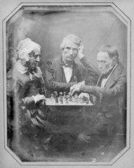 3 chess players: Mrs King's aunt  M Daguerr