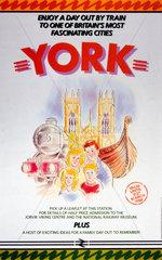 'York'  BR poster  1987.